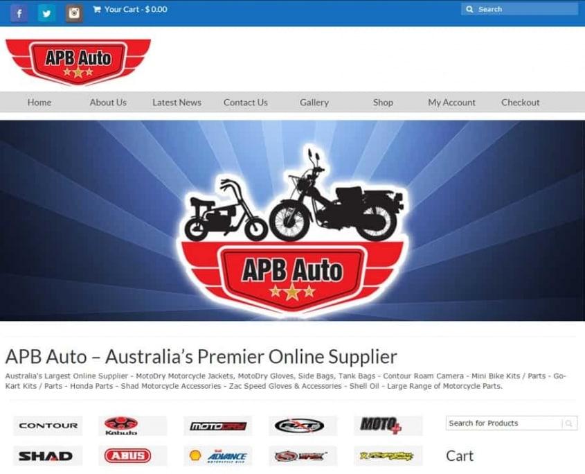 APB Auto - Website Design Caboolture