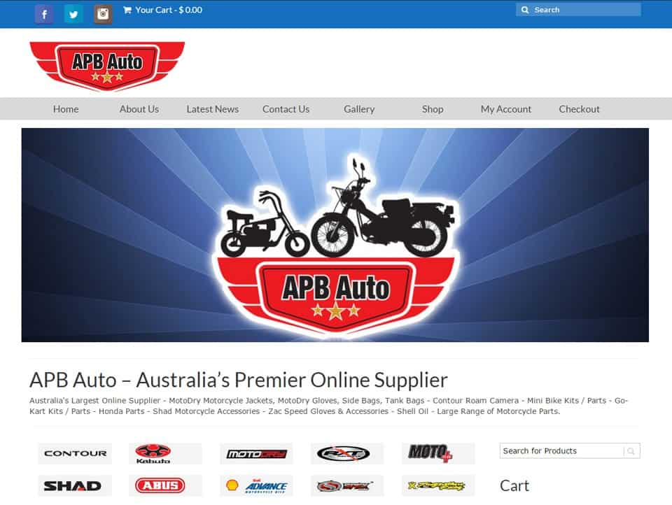 APB Auto - Website Design Caboolture
