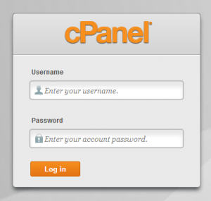 cPanel Log-in