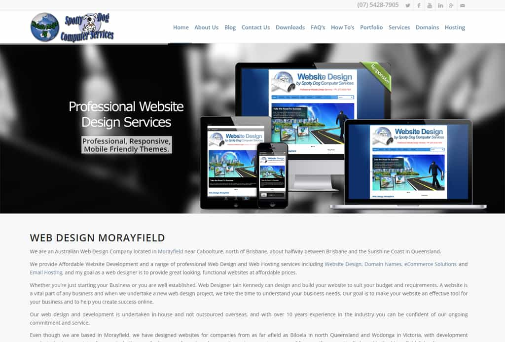Our revamped website
